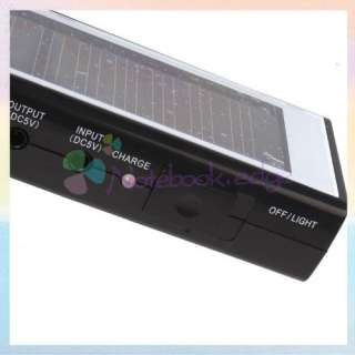 Solar Power Pannel & Phone Charger/Flashlight/FM Radio