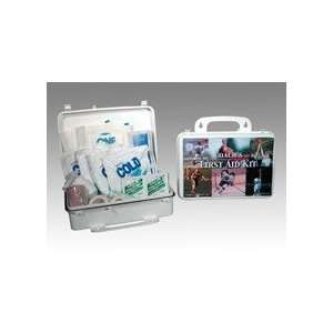 XL Plastic First Aid Kit (case w/supplies)