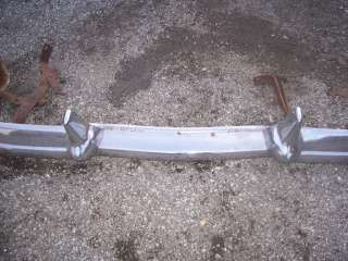 1957 Ford 2 Door Sedan Front Bumper With Braces / Brackets VINTAGE
