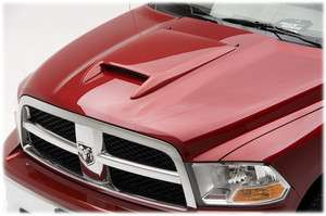 DODGE RAM 2009 2012 SRT 10 STYLE HOOD SCOOP PAINTED PYB YELLOW