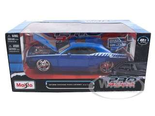 of 2008 Dodge Challenger SRT8 Blue Pro Rodz die cast car by Maisto