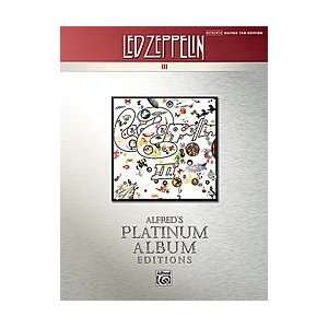 Led Zeppelin    III Platinum Guitar Musical Instruments