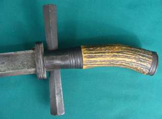 Late 18th C German Hunting Knife Dagger Sword