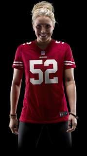 NFL San Francisco 49ers (Patrick Willis) Womens Football