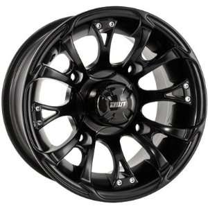 Douglas Wheel Nitro Wheel   12x7   4+3 Offset   4/156   Black, Color