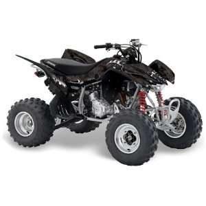 Racing Honda TRX 400EX 2008 2011 ATV Quad Graphic Kit   Reaper Black