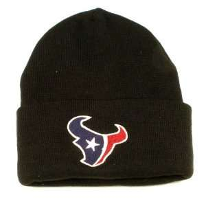 Houston Texans Classic Black Beanie