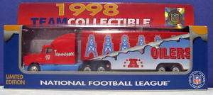 White Rose NFL Houston Oilers Ltd. Truck 1/80 NIB