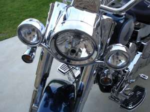 HOUSING CONVERSION KIT CHROME NACELLE KIT FOR HARLEY DAVIDSON