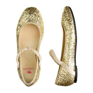 Girls glitter ballet flats   flats & moccasins   Girls shoes   J