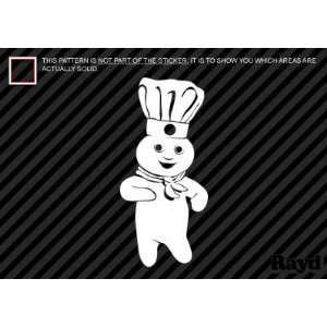 (2x) Pillsbury Doughboy   Sticker   Decal   Die Cut