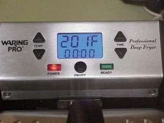 WARING PRO PROFFESSIONAL DEEP FRYER DF270WS 1800W EXCELLENT