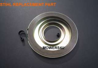 NEW STIHL RECOIL STARTER SPRING REPLACES 1117 190 0601