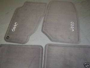 Jeep Grand Cherokee Taupe Carpet Floor Mats 99 04