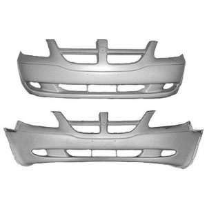2001 2004 Dodge Caravan Front Bumper With Two Tone
