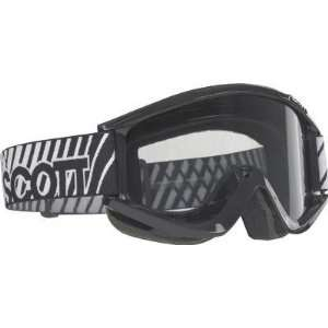 Scott USA Recoil Pro Sand Goggles Black/Gray Lens 217791