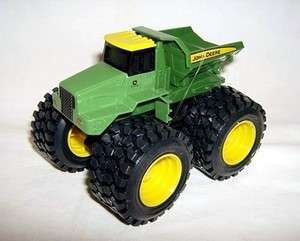 ertl 5 JOHN DEERE ROCK DUMP TRUCK MONSTER TREADS loose