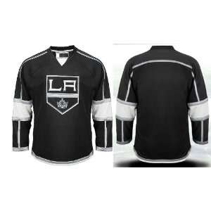NHL Gear   Los Angeles Kings Blank Black Jersey Hockey