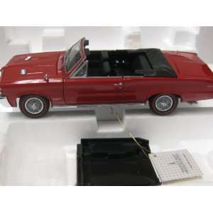 Franklin Mint Precision 1964 Pontiac GTO 124 Scale Toys & Games