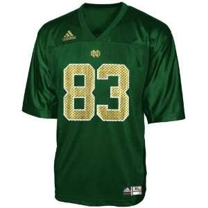 adidas Notre Dame Fighting Irish #83 Green Infant Replica