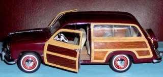 Station Wagon Woody 124 Franklin Mint Precision Model Car Limited Ed