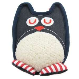 Happy Puppy Plush Dog Toy   Denim Owl Squeaker Toy   Color