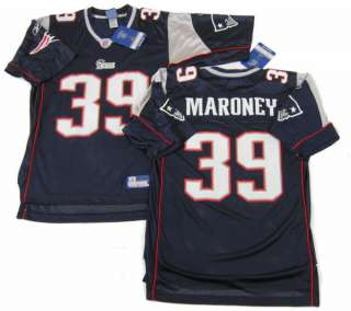 LAURENCE MARONEY New England Patriots Reebok Jersey MEDIUM