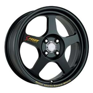 17x7 Speedy Race Mode (Matte Black) Wheels/Rims 4x100
