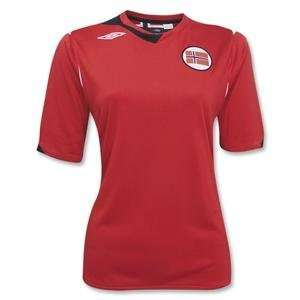 Norway Womens Home Soccer Jersey