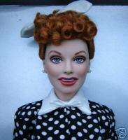 FRANKLIN MINT LUCILLE BALL POLKA DOT DRESS LUCY DOLL