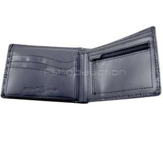 Rip Curl Intake Black Croc Mens Surf Leather Wallet New