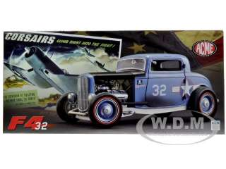 Brand new 118 scale diecast model car of 1932 Ford 3 Window Coupe
