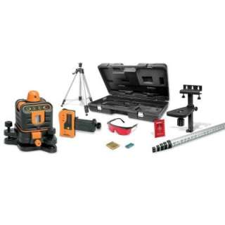 Johnson Manual Leveling Rotary Laser Level Kit 40 6512 at The Home