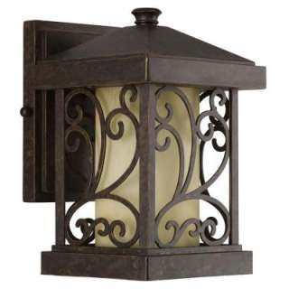 Progress Lighting Cypress Collection Forged Bronze 1 light Wall