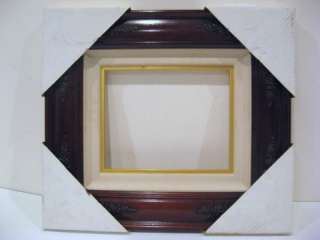 x10 Cherry Wood Picture Frame Oil Canvas