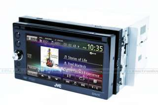 JVC KW AVX646 6.1 LCD DOUBLE DIN CAR DVD IPOD PLAYER