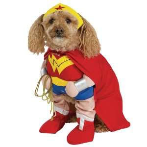 Wonder Woman Deluxe Dog Costume, 18839