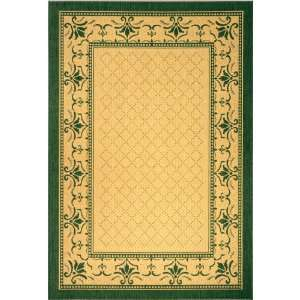 Green Indoor/Outdoor Area Rug, 2 Feet 7 Inch by 5 Feet