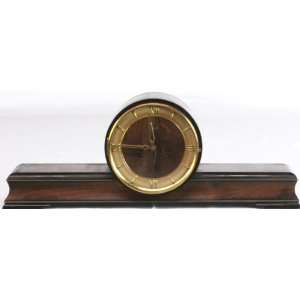 Art Deco Westminster Mantle Clock Mahogany