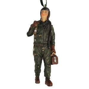 Air Force Man Military Pilot Christmas Ornament