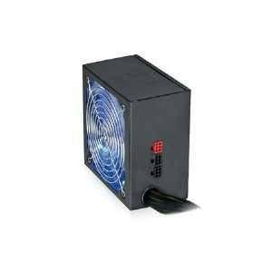 650W 140mm Blue LED Fan ATX Power Supply CUL 650B (Black) Electronics