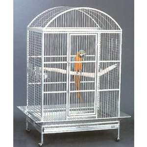 Adventures Grande Dometop Bird Cage White