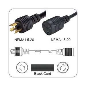 PFL52012E120 Extension Power Cord L5 20 Plug to L5 20 Connector