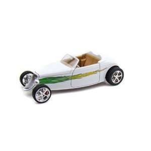 Ford Convertible (1933, 118, White with Flames) diecast car model