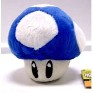 SUPER MARIO BROS  Blue  ICE Mushroom Cellphone holder