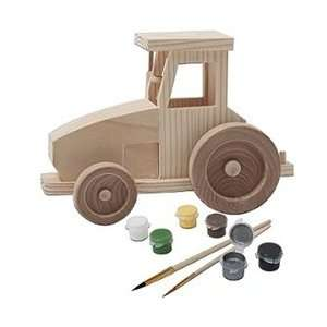 21009 Master Pieces John Deere Tractor Wood Painting Kit Toys & Games