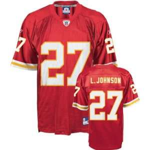 Larry Johnson Kansas City Chiefs Red Toddler NFL Jersey