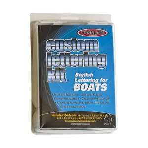 Products WHI610EC 610 Series Solid White Factory Matched Boat Name Kit