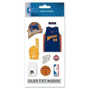 Golden State Warriors NBA Stickers Arts, Crafts & Sewing