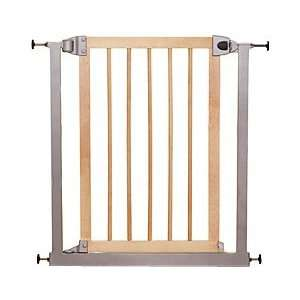 Kolcraft Metro Quick Lock Safety Gate   Golden Birch Baby
